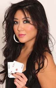 Maria Ho is aces and ranked 4th among female poker players worldwide