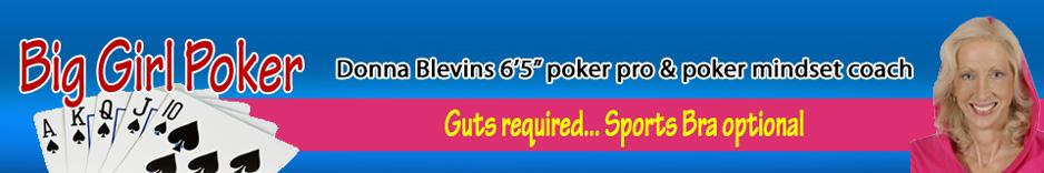 Donna Blevins, Poker Mindset Coach